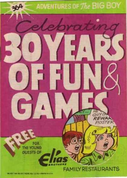 Adventures of the Big Boy 364 - 30 Years - Fun - Games - Guests - Free