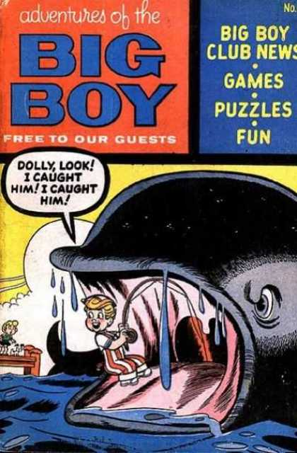 Adventures of the Big Boy 39 - Club News - Games - Puzzles - Fun - Whale