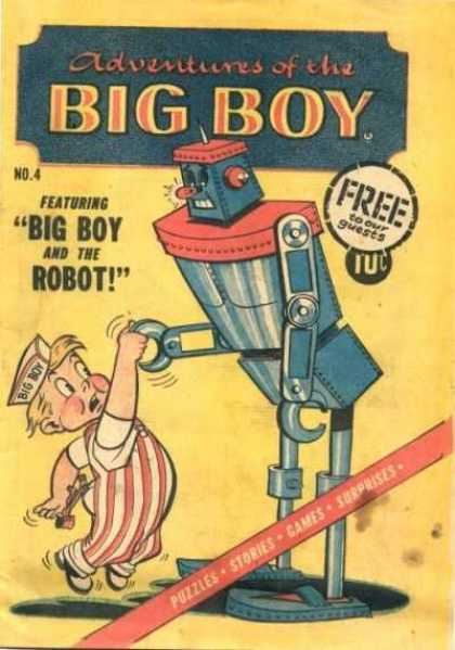 Adventures of the Big Boy 4 - Free To Our Guests - Big Boy - Robot - Puzzles - Stories