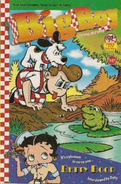 Adventures of the Big Boy 481 - Dog - Betty Boop - Frog - Lfy - Pond