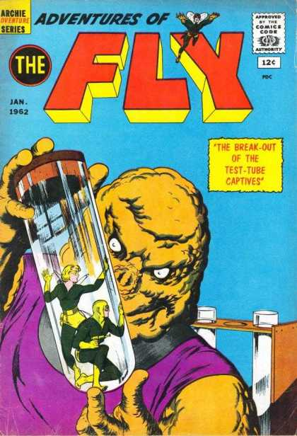 Adventures of the Fly 17 - Human Experiment - Test Tube - Captives - Monster - Adventure