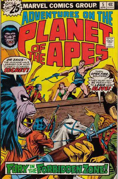 Adventures on the Planet of the Apes 5