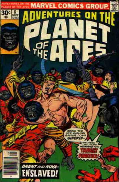 Adventures on the Planet of the Apes 8