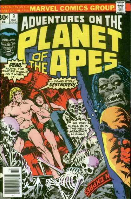 Adventures on the Planet of the Apes 9