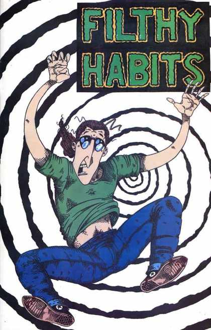 Aeon Focus 3 - Filthy Habits - Man - Spiral - Glasses - Falling