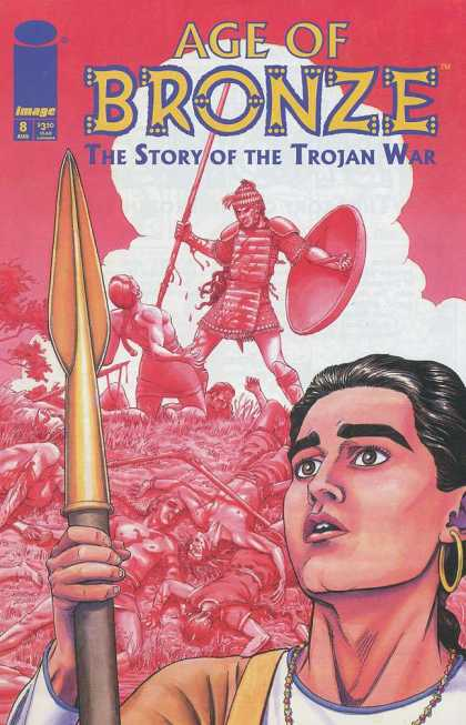 Age of Bronze 8 - The Story Of The Trojan War - Spear - Girl - Warrior - Face