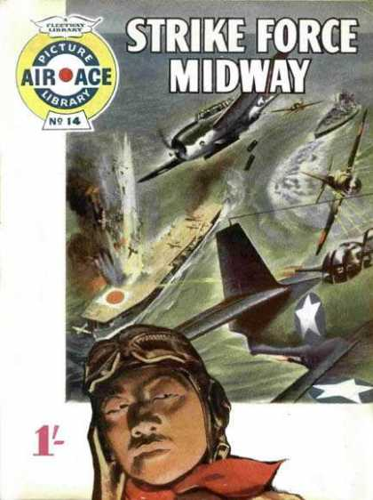 Air Ace Picture Library 14 - War - Planes - Bombing - Water - Air