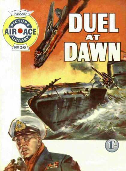 Air Ace Picture Library 36 - World War Ii - Naval Battle - German Bombers - British Admiral - Submarine Warfare