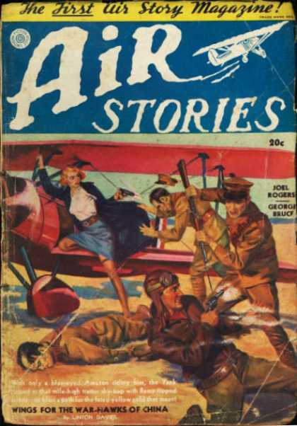 Air Stories - Winter 1937