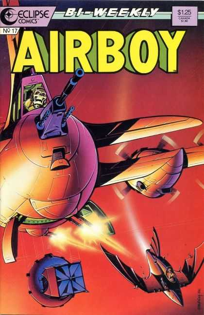 Airboy 17 - Skeleton - Weekly - Light - War - Flight