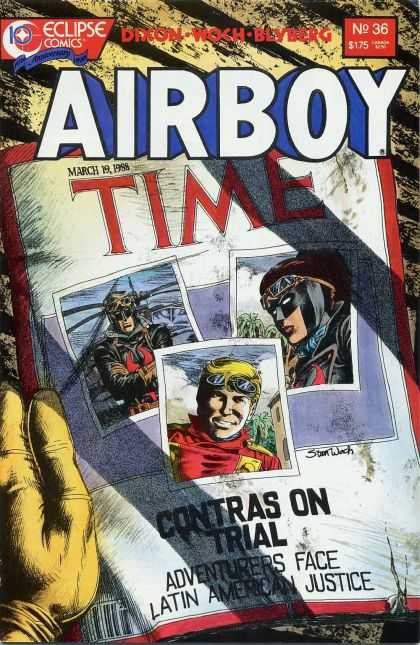 Airboy 36 - Eclipse - Comics - March 19 1988 - No 36 - Time