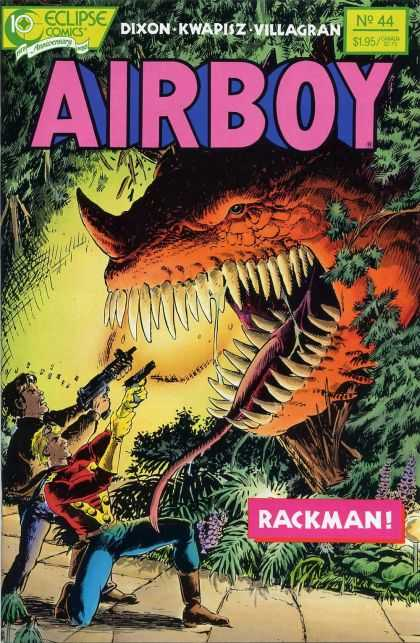 Airboy 44 - Dixon Kwapisz Villagran - No 44 - 195 - Rack Man - Men Shooting Monster