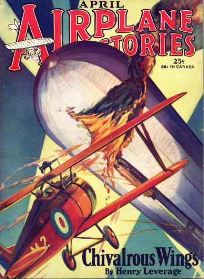 Airplane Stories - 4/1929