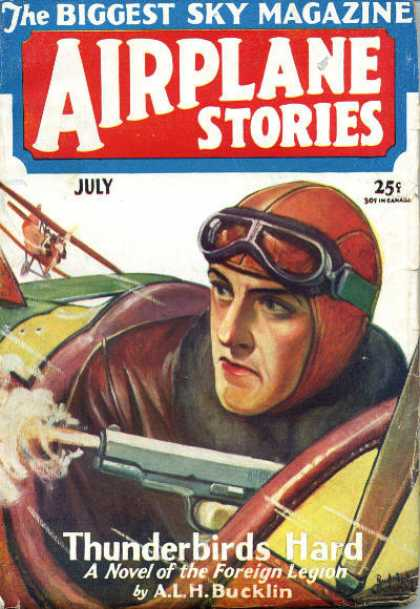 Airplane Stories - 7/1930