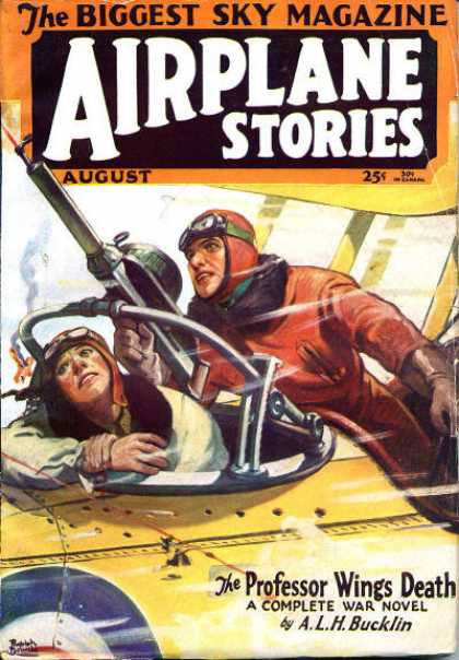Airplane Stories - 8/1930