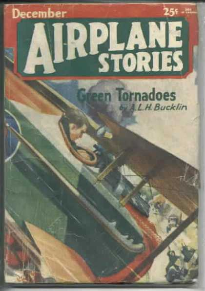 Airplane Stories - 12/1930