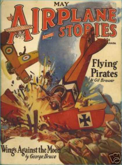 Airplane Stories - 5/1929