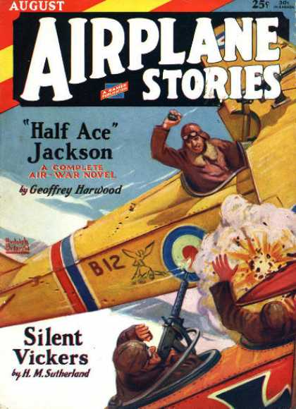 Airplane Stories - 8/1929