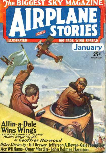 Airplane Stories - 1/1930