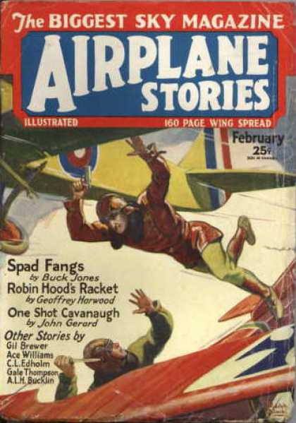 Airplane Stories - 2/1930