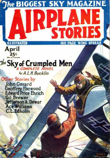Airplane Stories - 4/1930