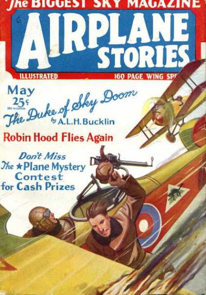 Airplane Stories - 5/1930