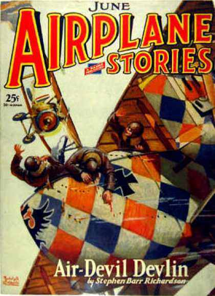 Airplane Stories - 6/1930