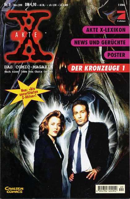 Akte X 10 - German - Tv - Scully - Mulder - Fbi