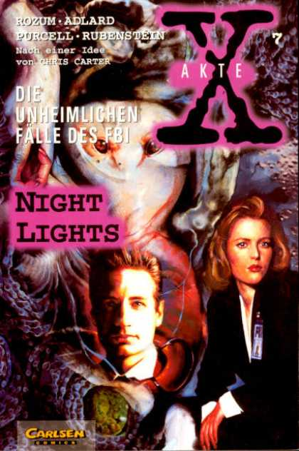 Akte X 7 - Rozum - Adlard - Purcell - Rubenstein - Night Lights