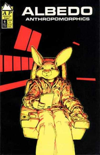 Albedo 6 - Ap Comics - Space Rabbits - Man-rabbit - Animal People - Spaceships