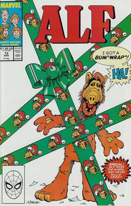 Alf 13 - Marvel - 1 - 13 March - Gift - Seasons Greetings