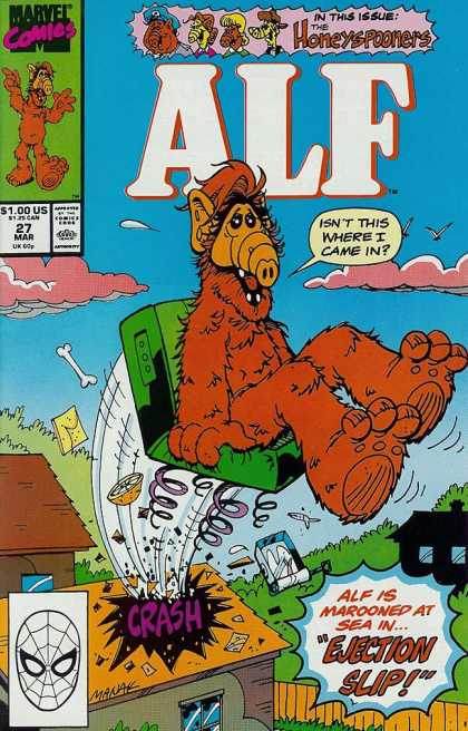 Alf 27 - Alf - Funny - Marvel - The Honeyspooners - Comics