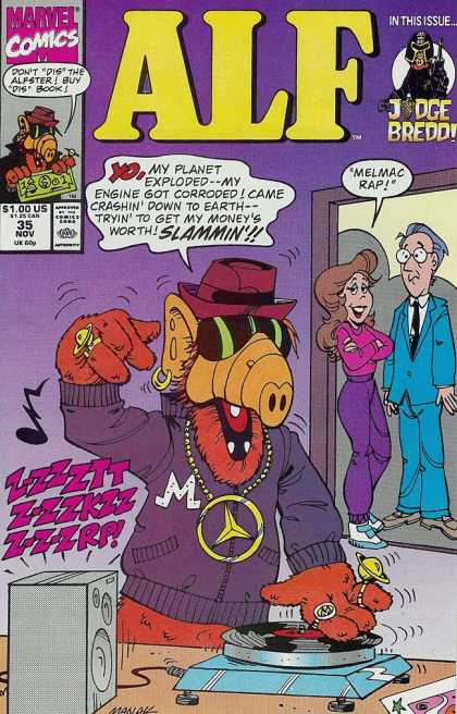 Alf 35 - Marvel - Marvel Comics - Judge Dredd - 35 Nov - Nov