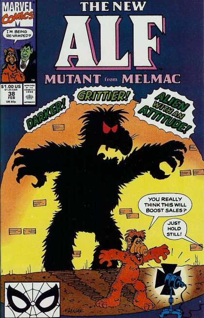 Alf 38 - Marvel Comics - Approved By The Comics Code Authority - Gritter - 100 Us - Mutant From Melmac
