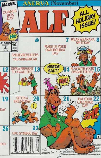 Alf 9 - Marvel - Marvel Comics - Alien - Ha - Ufo
