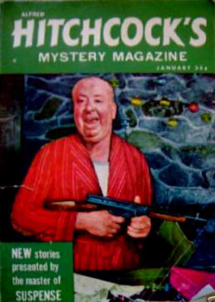 Alfred Hitchcock's Mystery Magazine - 1/1959