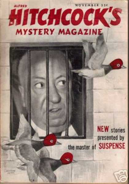 Alfred Hitchcock's Mystery Magazine - 11/1959