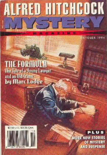 Alfred Hitchcock's Mystery Magazine - 10/1994