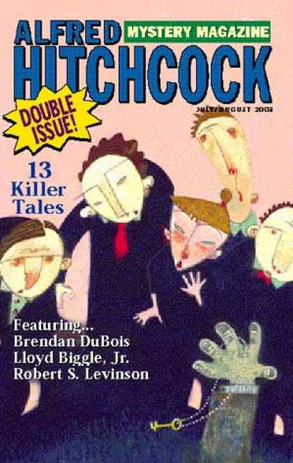 Alfred Hitchcock's Mystery Magazine - 8/2003