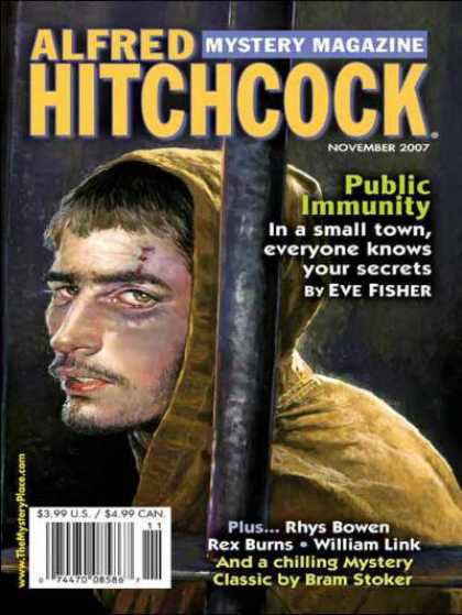 Alfred Hitchcock's Mystery Magazine - 11/2007