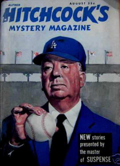 Alfred Hitchcock's Mystery Magazine - 8/1960