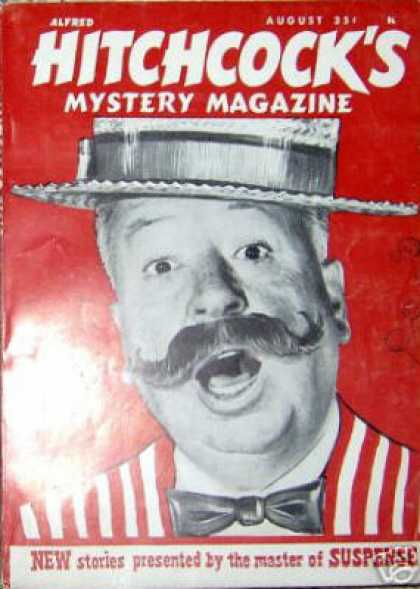 Alfred Hitchcock's Mystery Magazine - 8/1962