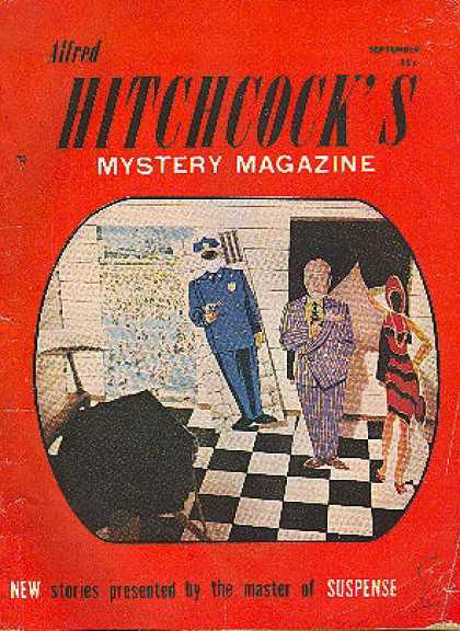 Alfred Hitchcock's Mystery Magazine - 9/1957
