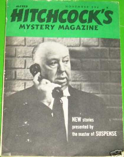 Alfred Hitchcock's Mystery Magazine - 11/1968