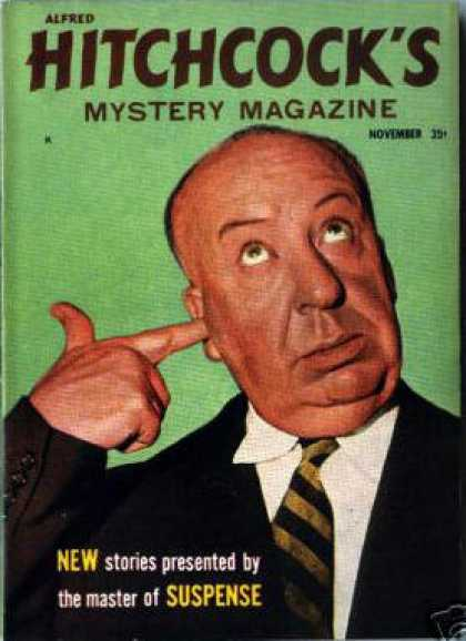 Alfred Hitchcock's Mystery Magazine - 11/1958