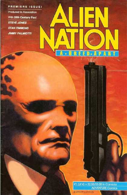 Alien Nation: A Breed Apart 1 - Premiere Issue - Steve Jones - Stan Timmons - Jimmy Palmiott - Gun