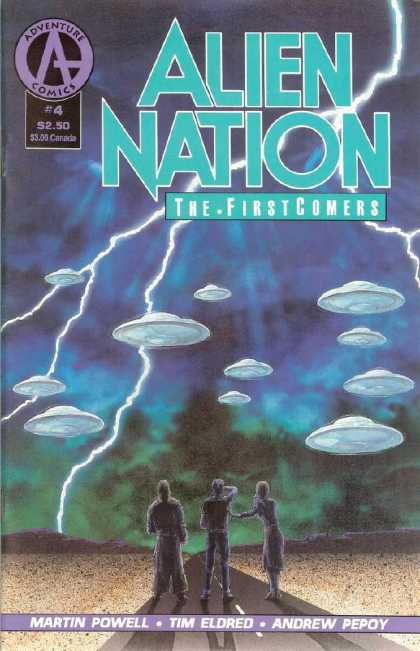 Alien Nation: The Firstcomers 4 - Adventure - Martin Powell - Tim Eldred - Andrew Pepoy - Spaceships