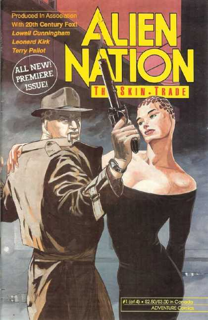Alien Nation: The Skin Trade 1 - Adventure Comics - Science Fiction - Aliens - Tv - Fedora