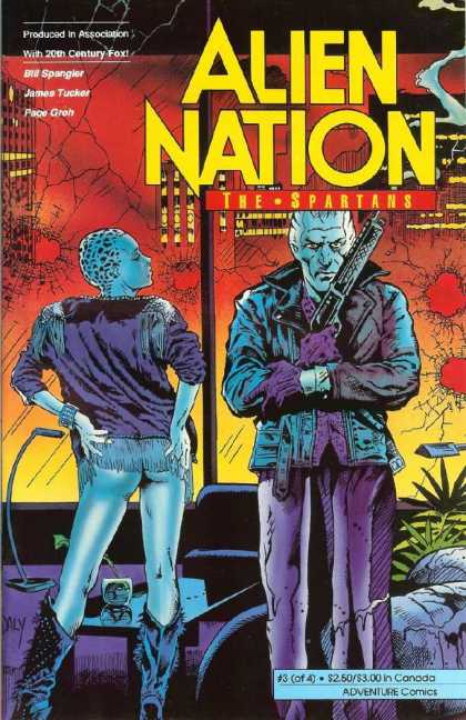 Alien Nation: The Spartans 3 - Bill Spangler - James Tucker - Pace Groh - 20th Century Fox - The Spartans