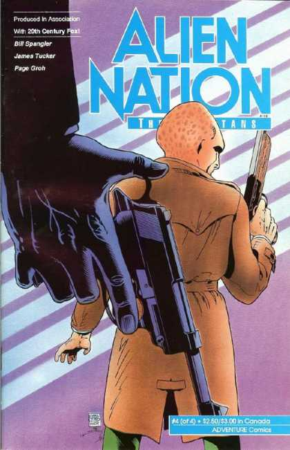 Alien Nation: The Spartans 4 - Handgun - Alien - Extra Terrestrial - Weapon - Trench Coat